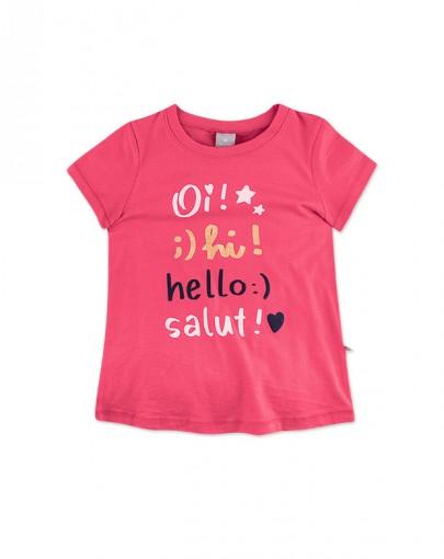 Blusa Infantil Feminina Hering Kids 5cd0kgh10