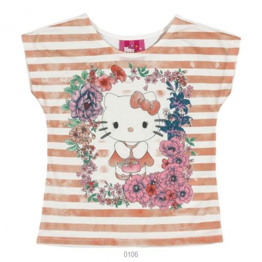 Blusa Infantil Feminina Hello Kitty Estampada 0801.87295