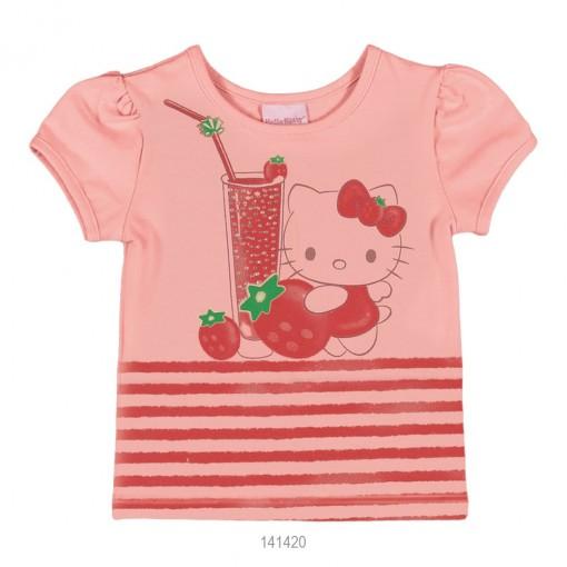 Blusa Infantil Feminina Hello Kitty Estampada 0850.87267