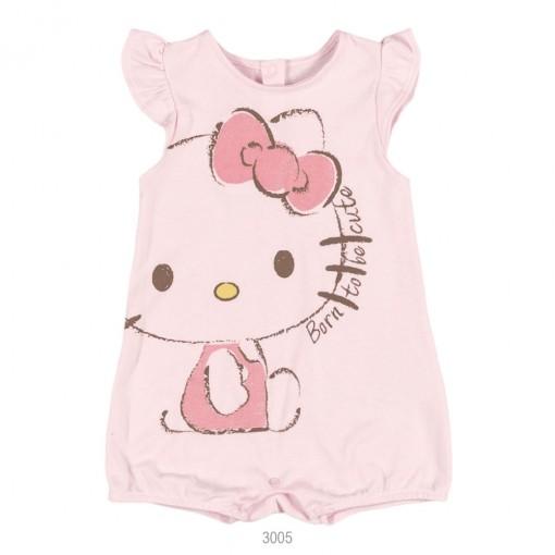 Body Bebê Menina Hello Kitty Suedine 0850.87254