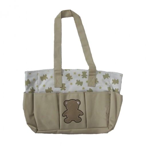 Bolsa Tip Top Maternidade Com Trocador Urso 2470018