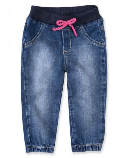 66148f8b8 Bizz Store - Calça Jeans Jogger Bebê Menina Hering Kids Azul