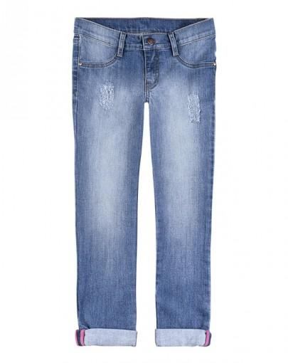 Calça Jeans Infantil Hering Kids Skinny C59d2vjly