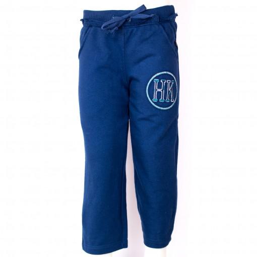 Bizz Store - Calça Infantil Masculina Hering Kids Moletom Azul 3936bafd9cb