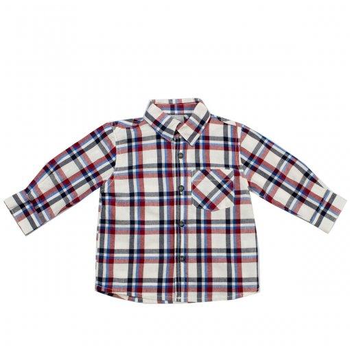 Camisa Xadrez Bebê Hering Kids C22qp5bghw