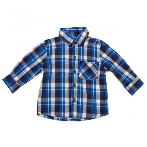 Camisa Xadrez Infantil Hering Kids C22vp5se10