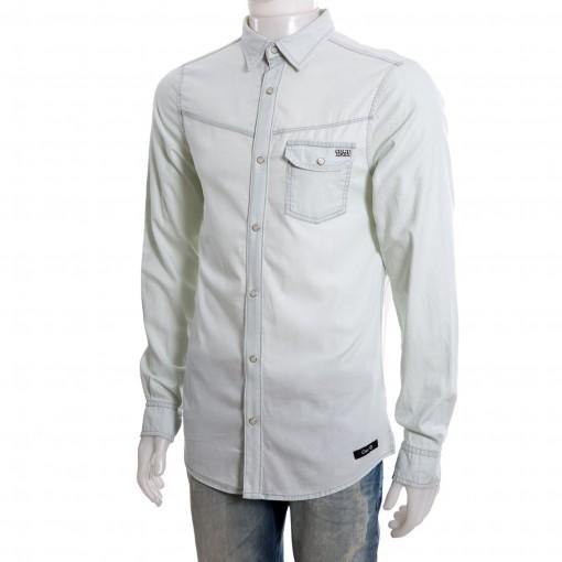 Camisa Jeans Masculina Coca-Cola Manga Longa 031.52.00009