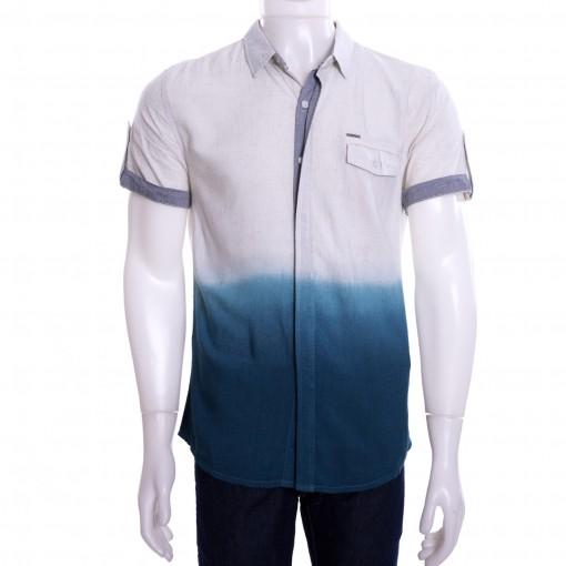 Camisa Masculina Dixie Manga Curta Degradê 15.01.0728