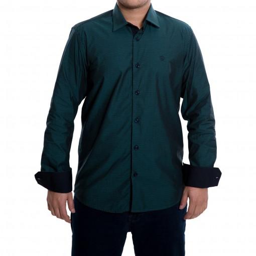 Camisa Masculina Luiz Eugenio Slim Comfort Fio 60 4062