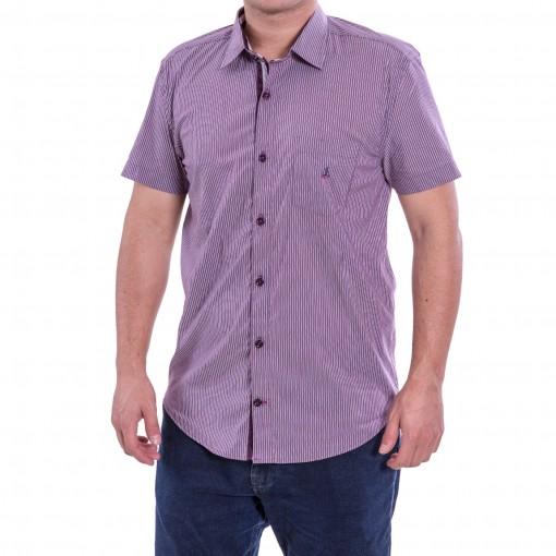 Camisa Masculina Porto & CO Slim Fit Manga Curta P031