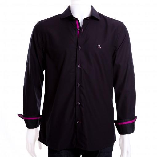 Camisa Masculina Porto & CO Slim Fit Manga Longa P020