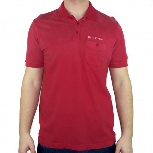 Camisa Polo Masculina Deliz Manga Curta D79012