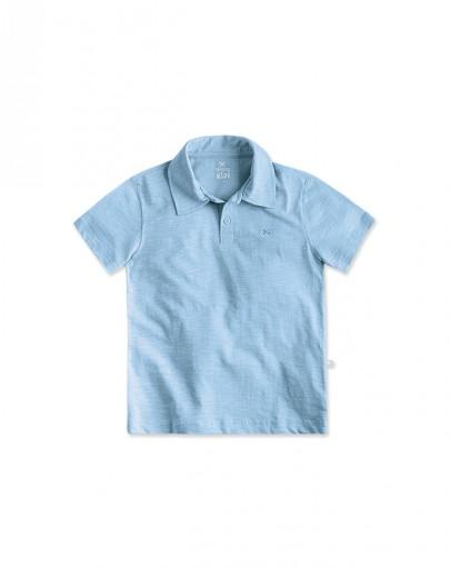Bizz Store - Camisa Polo Infantil Hering Kids Manga Curta Branca b59c3bc70f4ec