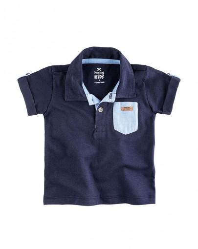 Camisa Polo Infantil Masculina Hering Kids 5399au807