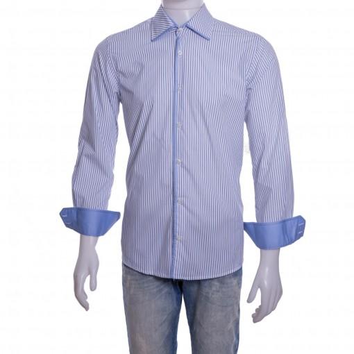 Camisa Social Masculina Luiz Eugenio Slim Fio 80 20046