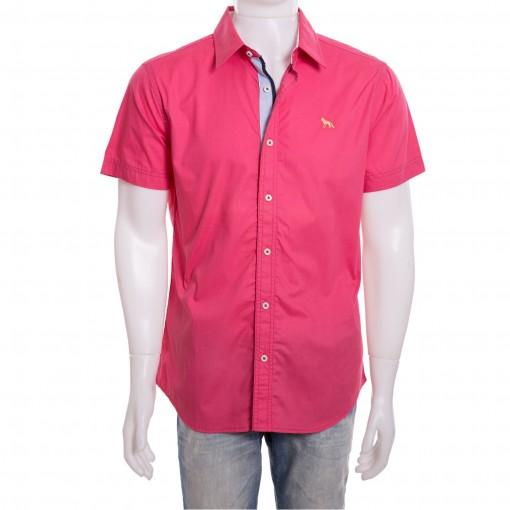 ae9351d3f Bizz Store - Camisa Social Masculina Acostamento Manga Curta Preta