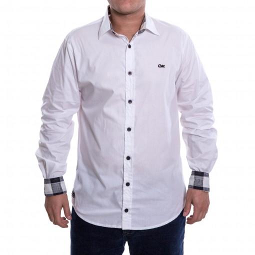 Camisa Social Masculina Coca-Cola Manga Longa 031.32.00506