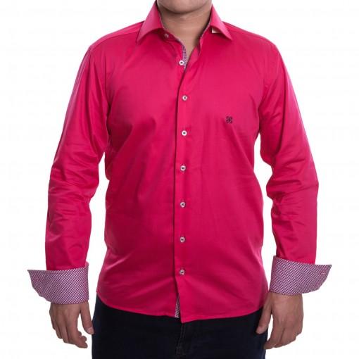 Camisa Social Masculina Happy Slim 10103161021