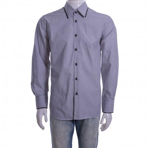 Camisa Social Masculina Luiz Eugenio Slim 20004