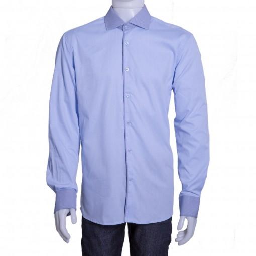 Camisa Social Masculina Luiz Eugenio Slim Fio 80 20048