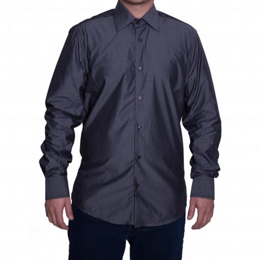 Camisa Social Masculina Luiz Eugenio Slim Fio 80 20054