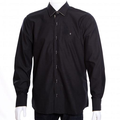 Camisa Social Masculina Luiz Eugenio Slim Fio 80 8328