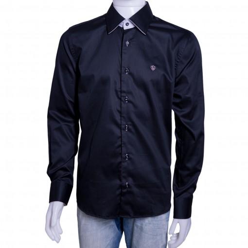 Camisa Social Masculina Luiz Eugenio Slim Fio 80 8336