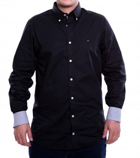 Camisa Social Masculina Tommy Hilfiger Slim Th0857872321