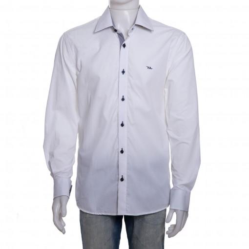 Camisa Social Masculina W.Albann Slim Fio 50 10066