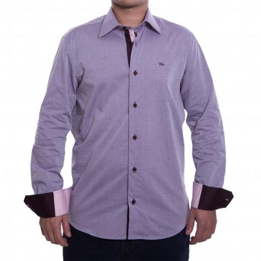 Camisa Social Masculina W.Albann Slim Fio 50 10118