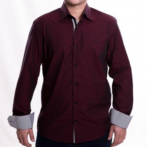 Camisa Social Masculina W.Albann Slim Fio 60 6166