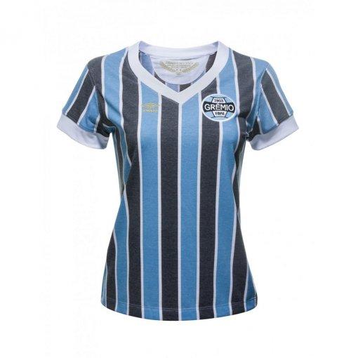 Camisa Feminina Umbro Grêmio Retrô 1893 615296