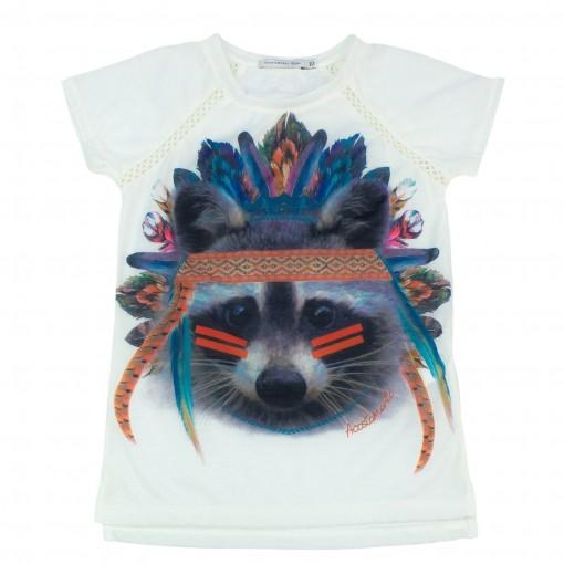 Camiseta Infantil Feminina Acostamento Fashion 68802114