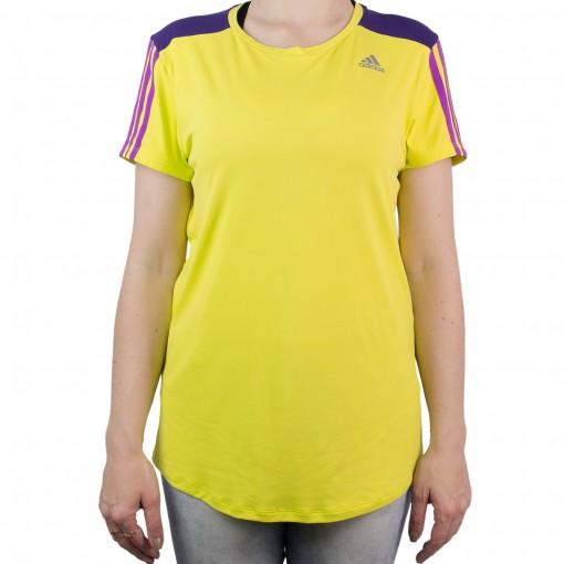 Camiseta Feminina Adidas 3S Ay7365
