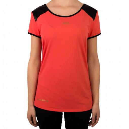 Camiseta Feminina Rosa Tatuada Fitness 4555