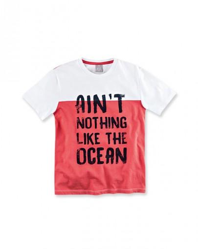 Camiseta Infantil Gola Redonda Hering Kids 5cfvn0a10