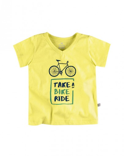 Camiseta Infantil Gola V Hering Kids 5cevytv07