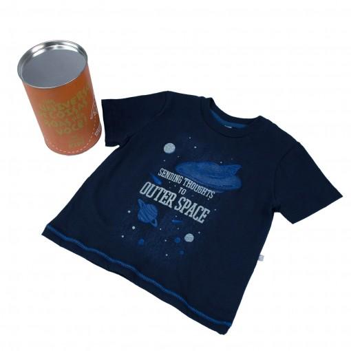 Camiseta Infantil Hering Kids 5CC2AU810