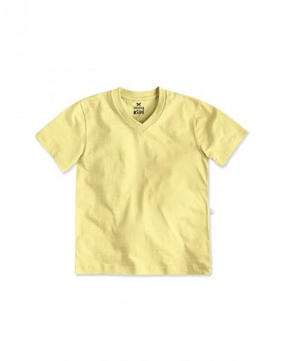 Camiseta Infantil Menino Decote V Hering Kids 5c6gytt07
