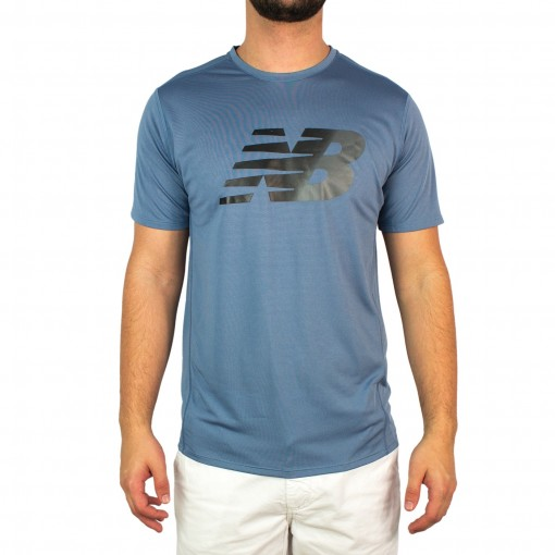 Camiseta Masculina Running New Balance Accelerate Mt53066