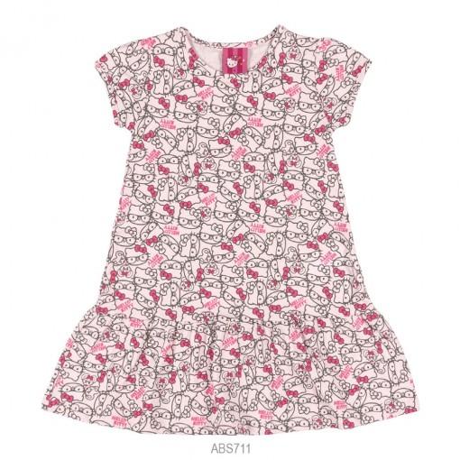 Camisola Infantil Feminina Hello Kitty Malha 0901.87463