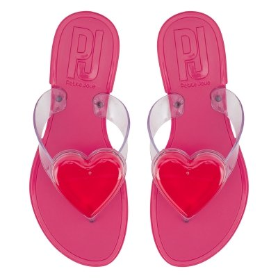 76d3a6bb0b Bizz Store - Chinelo Feminino Petite Jolie PVC J-Lastic