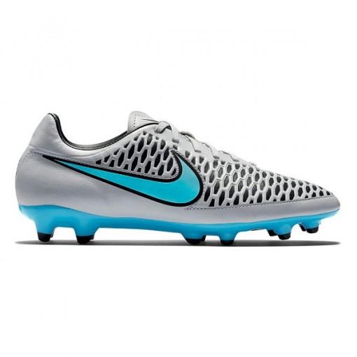 ... f76509f8015 Chuteira Magista Futebol de Campo Nike 651543-040 - Cinza  azul Bizz Store ... 0bf17c706df