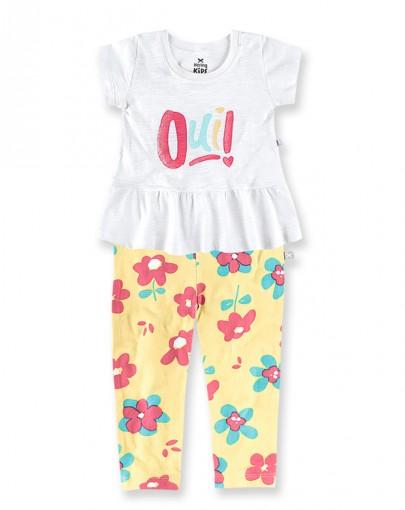Conjunto Infantil Feminino Hering Kids 5a32n0a10