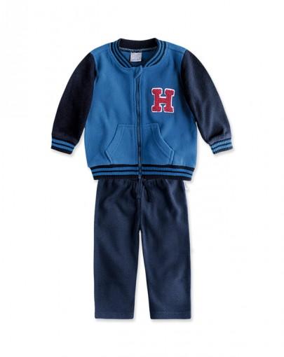 Conjunto Infantil Masculino Hering Kids Plush Kvdd1asi