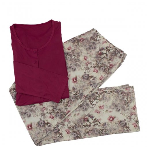 Pijama Recco Feminino Microfibra 09353