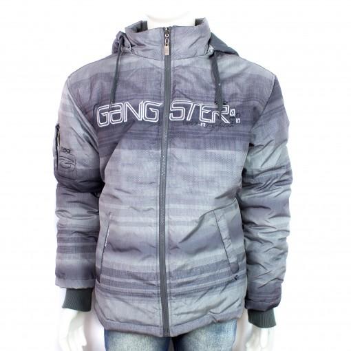 266ed9ff2 Jaqueta Gangster 16.13.0042 - Cinza | Bizz Store