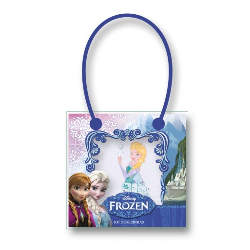 Kit C/2 Calcinhas Lupo Disney Frozen 276