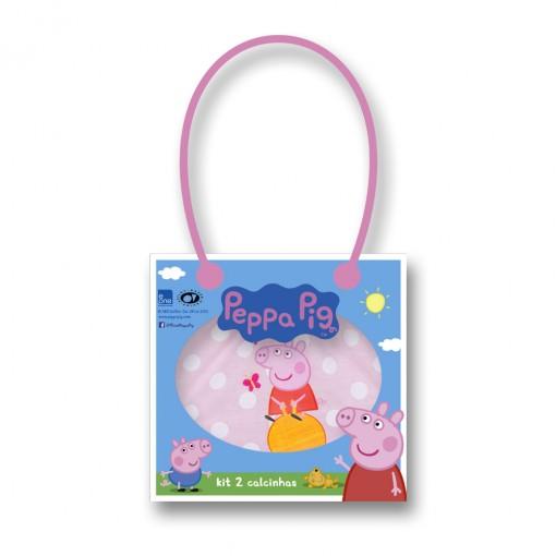 92e38bb68a Bizz Store - Kit C 2 Calcinhas Lupo Peppa Pig Infantil Menina