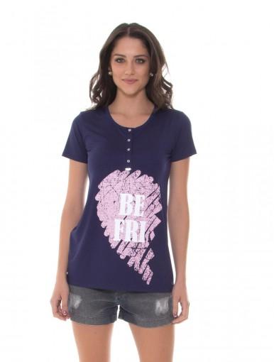 Kit Mamãe e Bebê Recco Camiseta + Body 09788